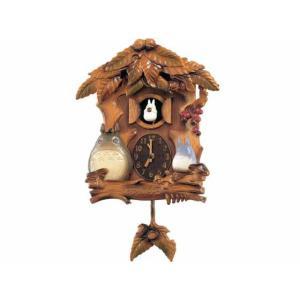 優しさあふれるトトロの世界でお部屋に優しく時を告げてくれます。 あたたかい木のぬくもりが伝わるナチュ...