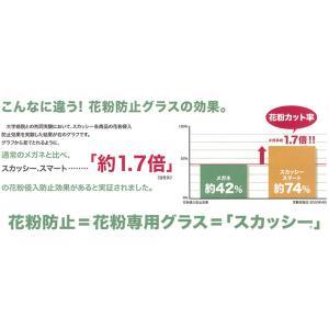 花粉症 メガネ スカッシー スマート2 模様付 レギュラーサイズ|harumido|05