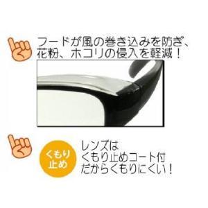 花粉症 メガネ スカッシー スマート2 模様付 スモール、キッズ|harumido|03