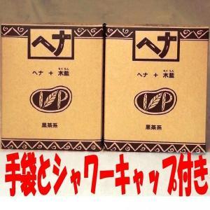 ナイアード ヘナ+木藍100g 2個セット 手袋とシャワーキャップのプレゼント付き|haruyakuten