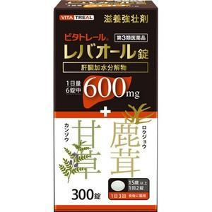 ビタトレール レバオール錠  300錠|haruyakuten