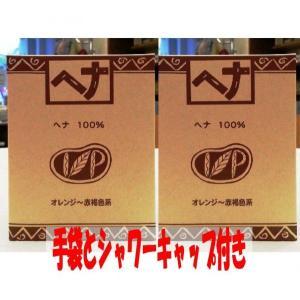 ナイアード ヘナ100%100g×2個セット 手袋とシャワーキャップのプレゼント付き|haruyakuten