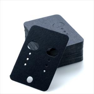 全3色/ピアス台紙+OPP袋50枚セット 40mm×55mm/アクセサリー イヤリング 台紙 ラッピング/白 黒 茶|haruzakka|03