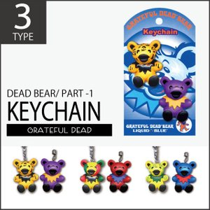 【 GRATEFUL DEAD BEAR KEYCHAIN 】デッドベア キーチェーン PART.1...