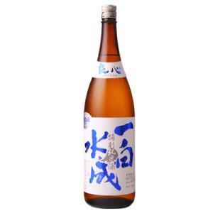 一白水成 特別純米 1800ml 日本酒 福禄寿酒造 秋田県