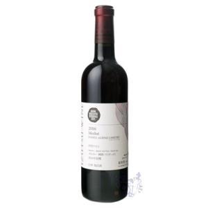 井筒ワイン NAC メルロー 樽熟 リミテッド 2016 720ml 赤 日本ワイン