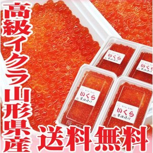いくら 醤油漬け 400g(100g×4) 送料無料 山形県...