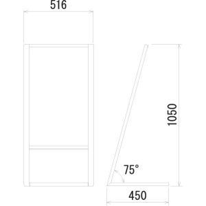 立て看板L型 264-1|hasegawasign|02