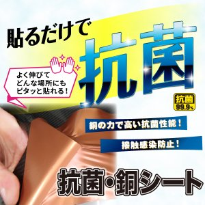 ハセプロ マジカルアート 抗菌・銅シート Mサイズ(CU-M) hasepro