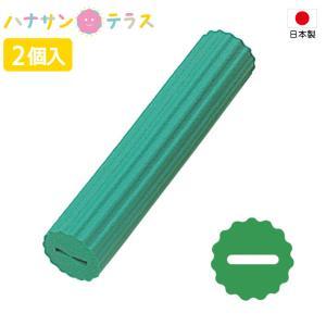介護 スポンジ スポンジハンドル 95mm S-18 2個入 フセ企画 日本製 自助食器 リハビリ 日常生活 食事用 自助具 ペン スプーン ボールペン 歯ブラシ 取り付ける|hashbaby