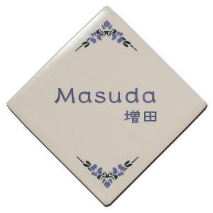 表札 ディーズサイン・陶器コレクションC-01 送料無料|hashibasangyo
