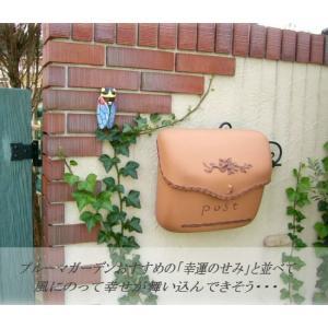 おしゃれ 郵便ポスト 壁付けポスト ポーチ 南欧の陶器風ポスト 送料無料|hashibasangyo|03