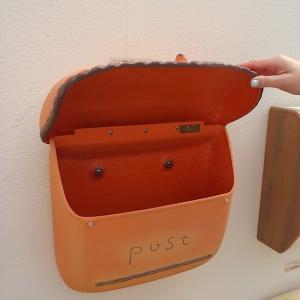 おしゃれ 郵便ポスト 壁付けポスト ポーチ 南欧の陶器風ポスト 送料無料|hashibasangyo|06