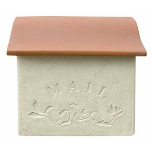 ポスト メールボックス スタッコ  ディーズガーデンの洋風Mail box 壁掛け郵便受け Post 送料無料|hashibasangyo