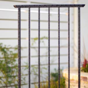 スクリーンフェンスW500 ワイドタイプ 壁の端部を飾るガーデン・オーナメント アルミ鋳物製 送料無料|hashibasangyo