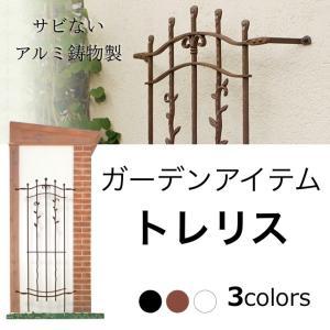 トレリス TypeA-L 壁を飾るガーデン・オーナメント アルミ鋳物製 送料無料|hashibasangyo