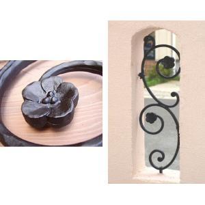 アールフィックスフェンス Mサイズ 壁を飾るガーデン・オーナメント アルミ鋳物製 送料無料|hashibasangyo|04