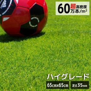 人工芝 高級 人工芝  マット リゾートガーデンターフ お試し価格(65cm × 65cm)|hashibasangyo