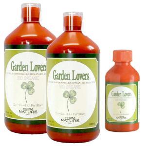 有機肥料・ 有機液体肥料 ガーデンラバーズ 500ml 2本セット(ミニボトル付き)|hashibasangyo