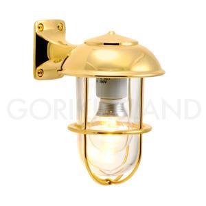 照明 エクステリアライト LED仕様 ゴールド(金色)BR5000 CL LE 送料無料|hashibasangyo