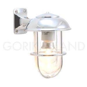 照明 エクステリアライト LED仕様 クローム・シルバー(銀色)BR5000 CR LE 送料無料|hashibasangyo