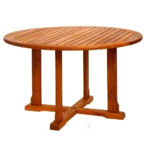 ガーデンテーブル チーク材バンドゥンテーブル 大(オイル加工なし)|hashibasangyo