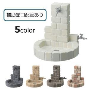 立水栓 サークルタイプ 補助蛇口配管 送料無料|hashibasangyo