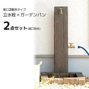 立水栓 ランバータイプ 補助蛇口配管 送料無料|hashibasangyo