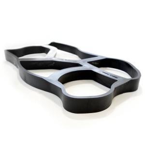 石の型抜き 鉄平石 アプローチ・パスメイク2個+顔料C.C.I 2kgセット 簡単、安全、低コストのDIY手作りキット 特別モニター価格10月末まで|hashibasangyo|02