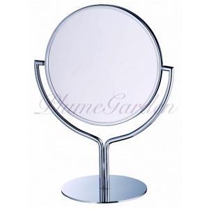 卓上鏡 プルーマ チューリップ 3倍拡大鏡 高級な真鍮製卓上ミラー 化粧鏡シェービングミラー 送料無料|hashibasangyo