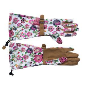 ガーデングローブ フローラルアーム 手袋|hashibasangyo|02