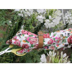 ガーデングローブ フローラルアーム 手袋|hashibasangyo|03