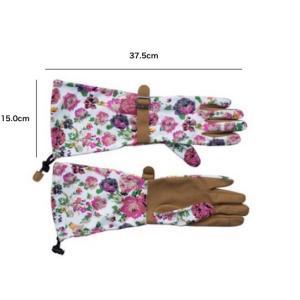 ガーデングローブ フローラルアーム 手袋|hashibasangyo|06