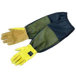 ガーデングローブ 防虫対策 グローブ、虫よけ腕カバー付女性専用手袋|hashibasangyo