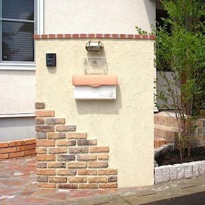 ポスト 郵便ポスト 埋め込み スタッコ-U  ディーズガーデンのおしゃれ ポスト|hashibasangyo|05