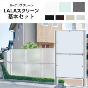 DIY用 目隠しパネルフェンス LALAスクリーン アクリル+アルミ製 送料無料|hashibasangyo