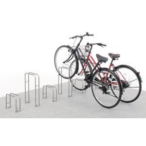 サイクルラック SS-1型 低位タイプ 前輪式 駐輪場向け自転車スタンド 送料無料 hashibasangyo 02