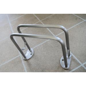 サイクルラック SS-1型 低位タイプ 前輪式 駐輪場向け自転車スタンド 送料無料 hashibasangyo 03