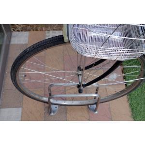 サイクルラック SS-1型 低位タイプ 前輪式 駐輪場向け自転車スタンド 送料無料 hashibasangyo 05