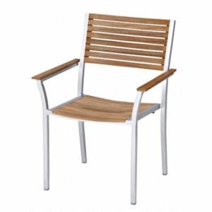 ガーデンチェアー アルテック アームチェアー チーク材 庭向けの椅子 送料無料|hashibasangyo