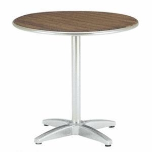 ラウンドテーブル800 チーク材 庭向けのガーデンテーブル 送料無料|hashibasangyo