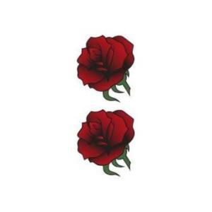 タトゥーシール【ミニサイズ (5×9cm)】 薔薇トライブ-1(タトゥー ミニ TATOO シール ...