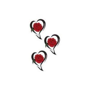 タトゥーシール【ミニサイズ (5×9cm)】 薔薇トライブ-2(タトゥー ミニ TATOO シール ...