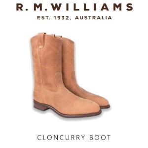 R.M.Williams サイドゴアブーツ(チェルシーブーツ) / Croncurry Boot|hassyu