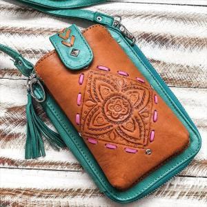 "MAHIYA 携帯ポーチ""Falls Phone Pouch Bag  "" hassyu"