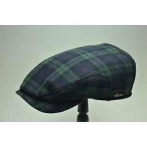 帽子好きな方に人気の、スウェーデン王室御用達ブランドWigensヴィゲンズのハンチング。 内側に同じ...