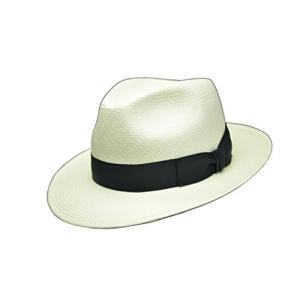 ドイツの老舗帽子メーカー MAYSERの本パナマ  キメがこまかいので、ツバもしなやか。 自然に綺麗...