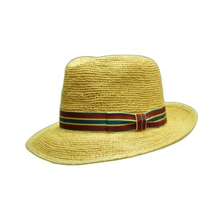エクアドル産のトキヤ草をかぎ編みにした本パナマ。   ざっくり感と柔らかさがセールスポイントです。 ...