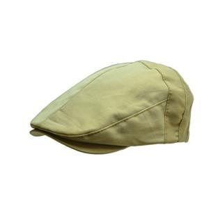 当店で人気の型のハンチング。 頭の後ろの丸みに添う扇型のパターン。 深くかぶれて安定感があるのと同時...