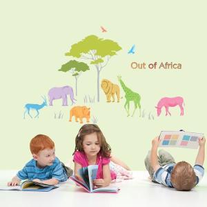 ウォールステッカー Out of Africa KR-0048|hat-shop